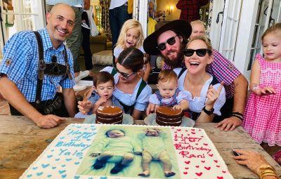 Kate Hudson at Rani Rose's birthday party