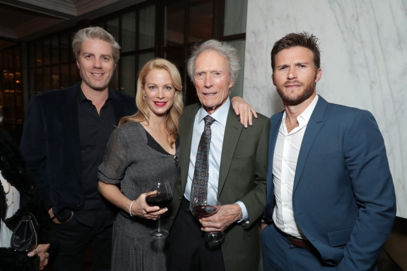 Clint Eastwood Alison Eastwood Scott Eastwood