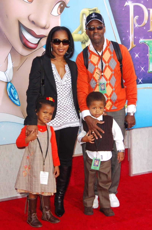 Angela Bassett kids