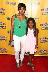 Angela Bassett with daughter Bronwyn Vance.