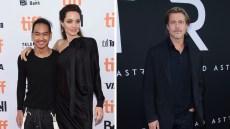 Angelina Jolie Maddox Brad Pitt