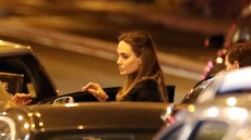 Angelina Jolie and Godmother Jacqueline Bissett Grab Dinner in Rare Appearance Together