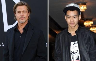 Brad Pitt Maddox Pitt