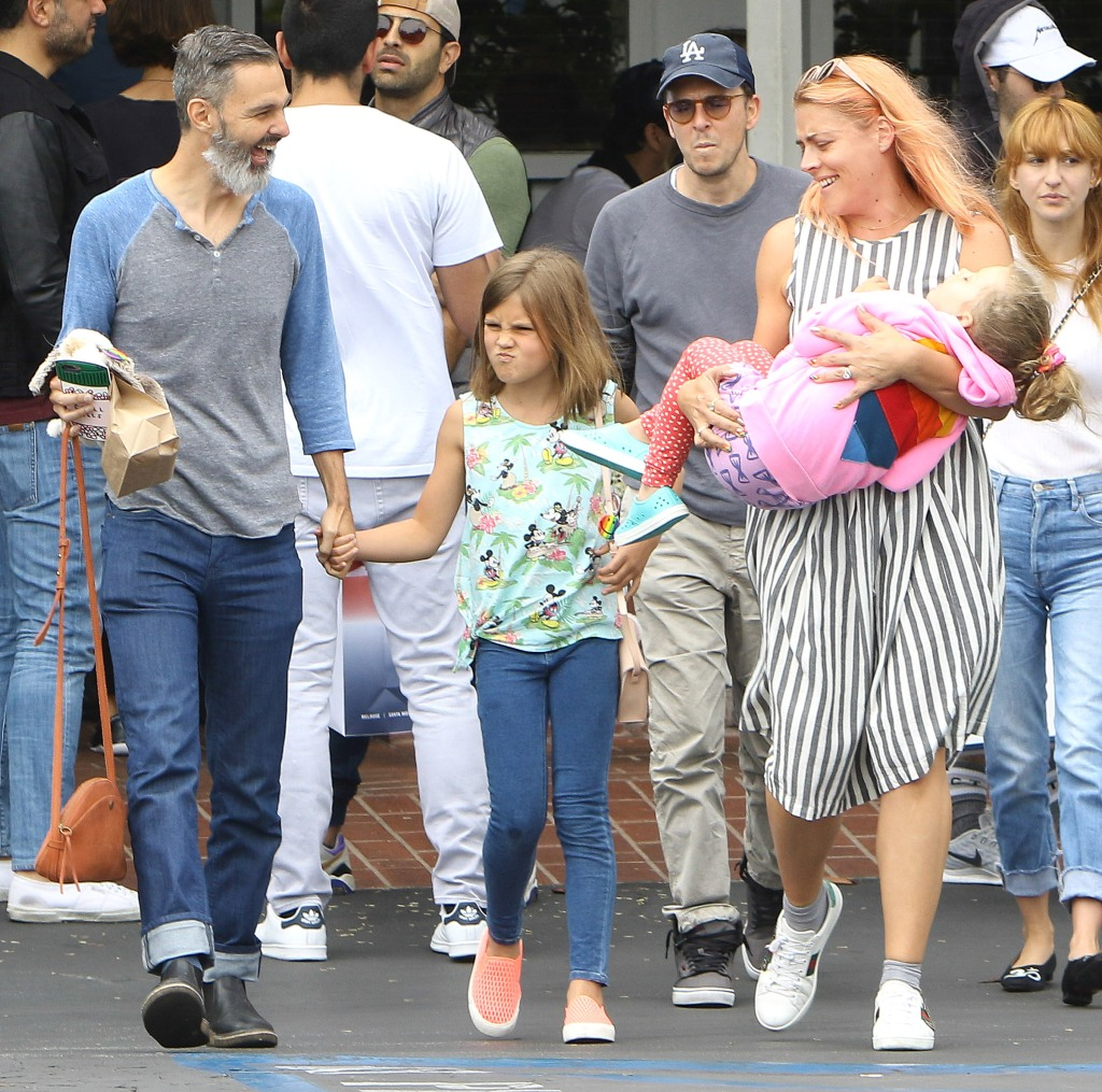 Busy Philipps family