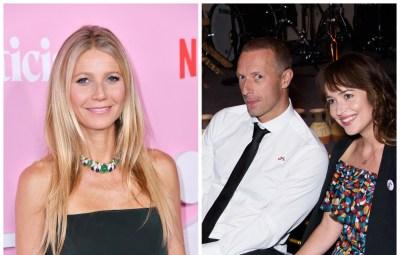 Gwyneth Paltrow Dakota Johhson Chris Martin