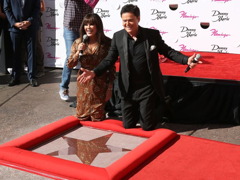Marie Osmond Donny Osmond