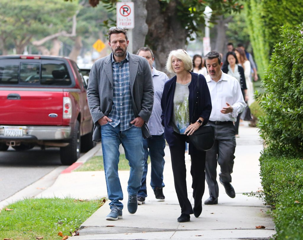 Ben Affleck and family