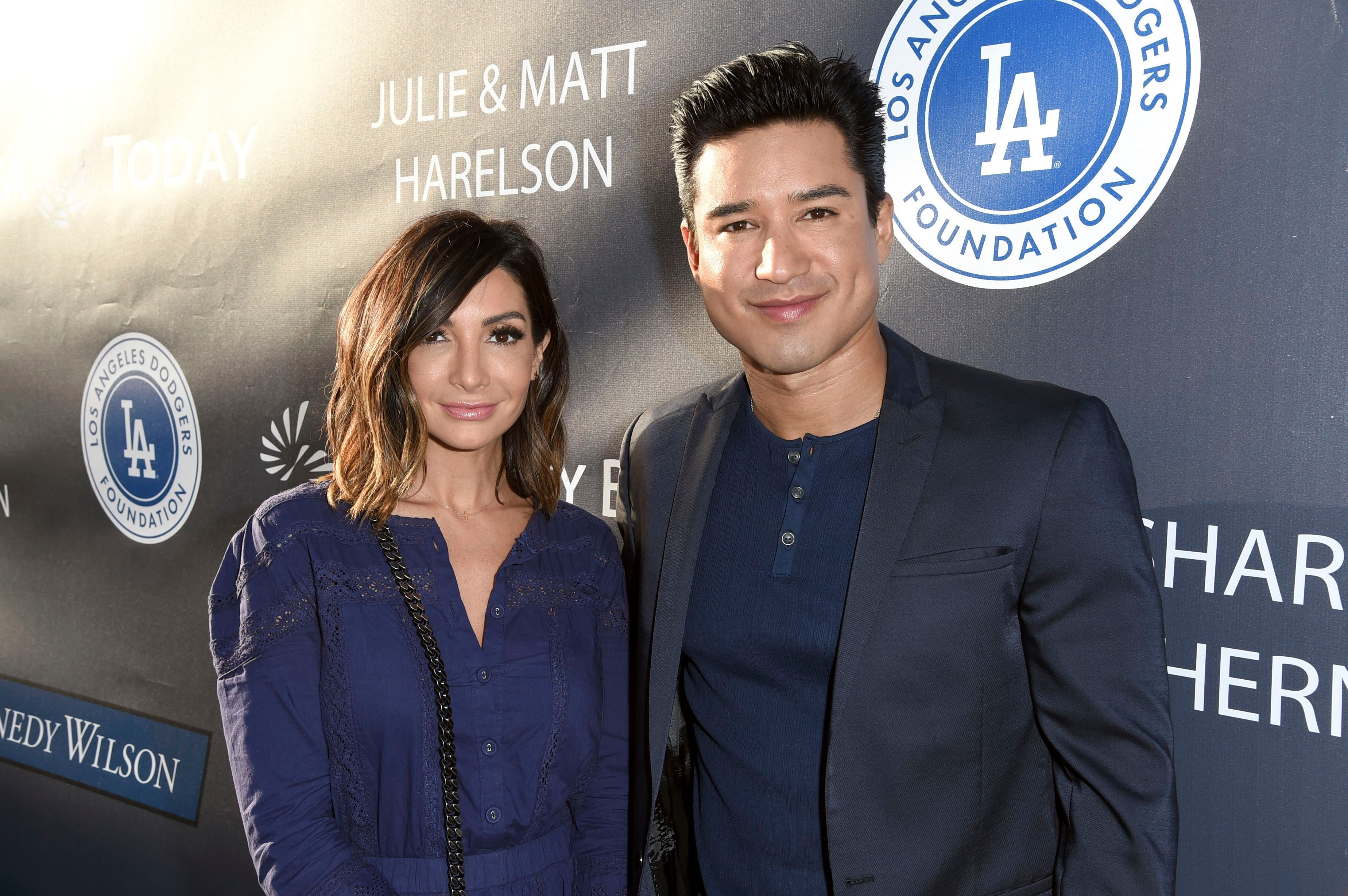 Mario Lopez And Courtney Laine Mazza Relationship Timeline