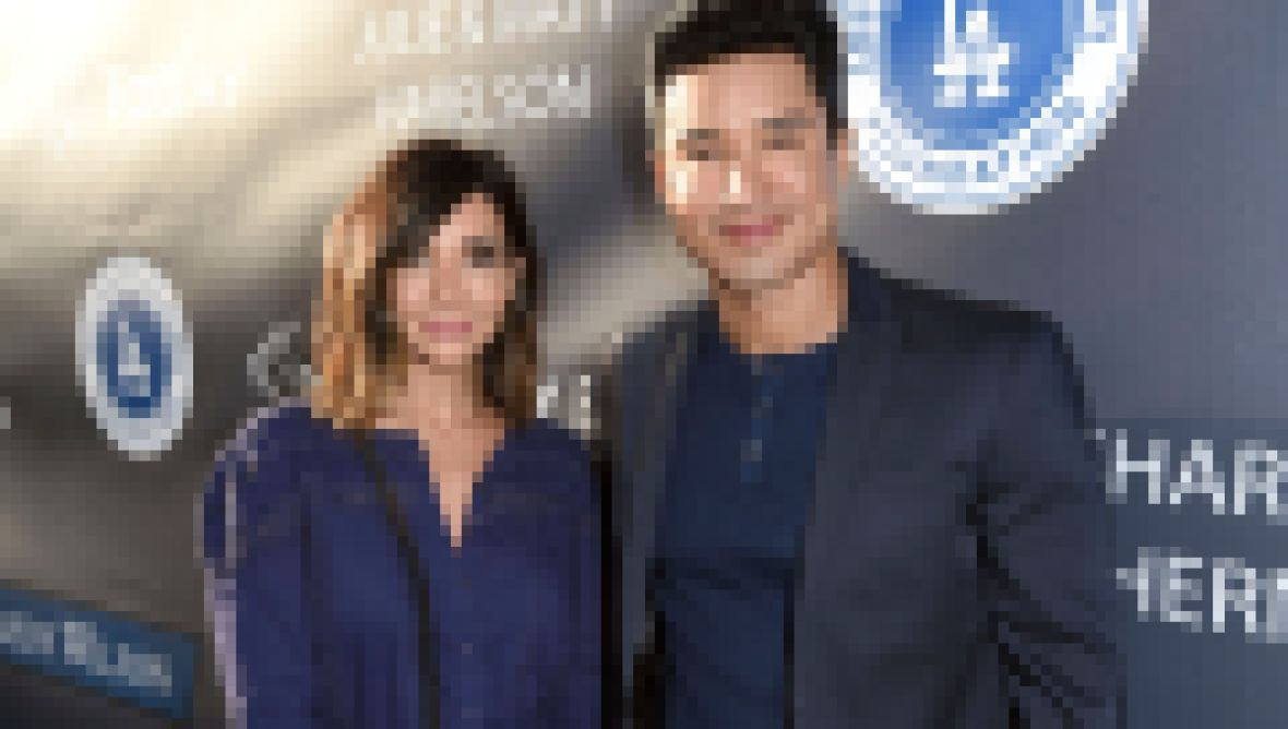 Mario Lopez Mario Lopez Courtney Mazza