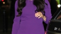Meghan Markle Duchess of Sussex Steps Out Purple Dress
