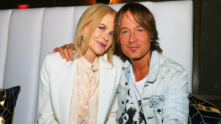 Nicole Kidman Keith Urban Cuddle Up During Recent Event