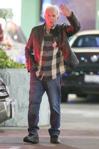 Crocodile Dundee actor Paul Hogan celebrates his 80th birthday with ex-wife Linda Kozlowski, 61, in Los Angeles