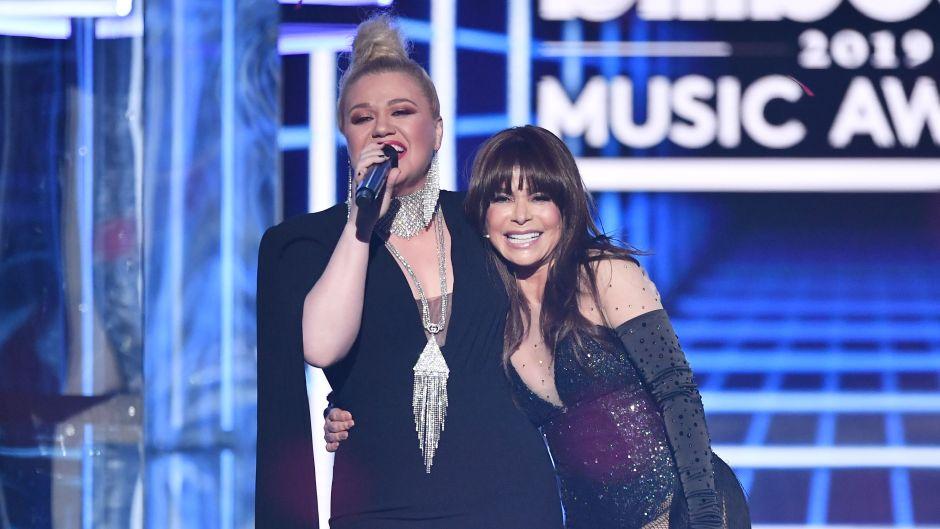 Kelly Clarkson Paula Abdul