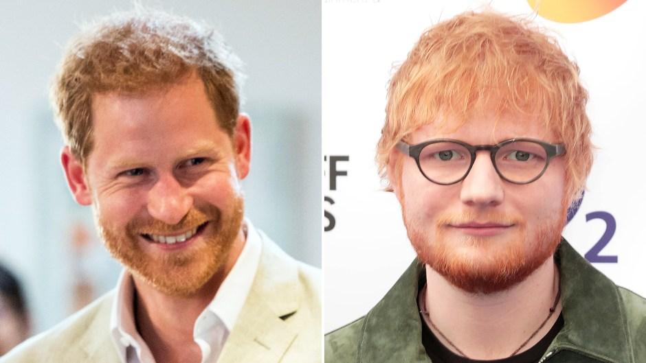 Prince Harry Teams Up Ed Sheeran
