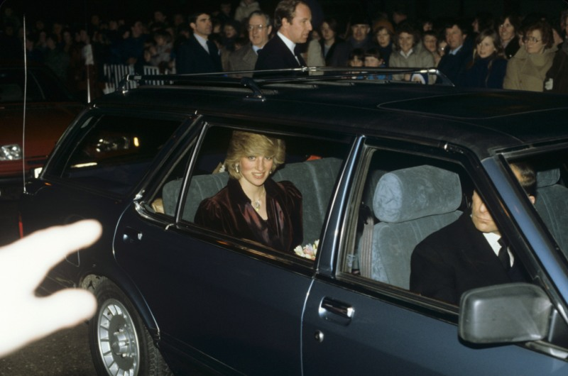 Princess Diana car