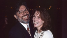 Ron Taft with Lesley Ann Warren