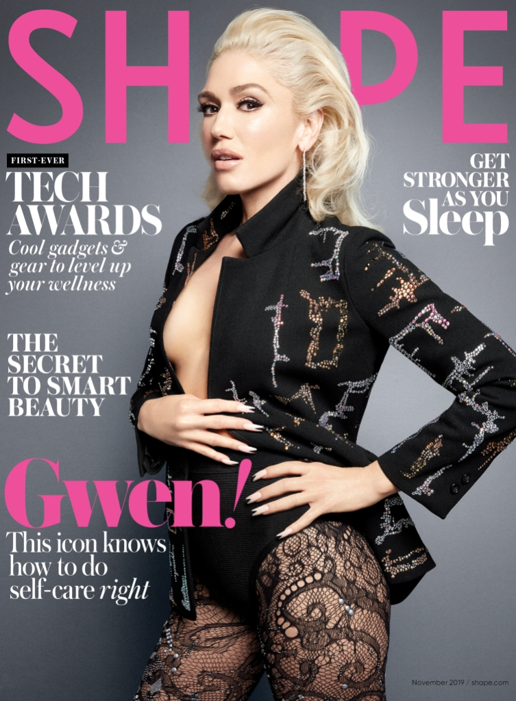 shape magazine gwen stefani cover