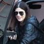 Sandra Bullock happy LA running errands