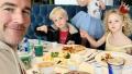 James Van Der Beek and his family