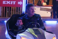 Simon Cowell and son Eric Cowell
