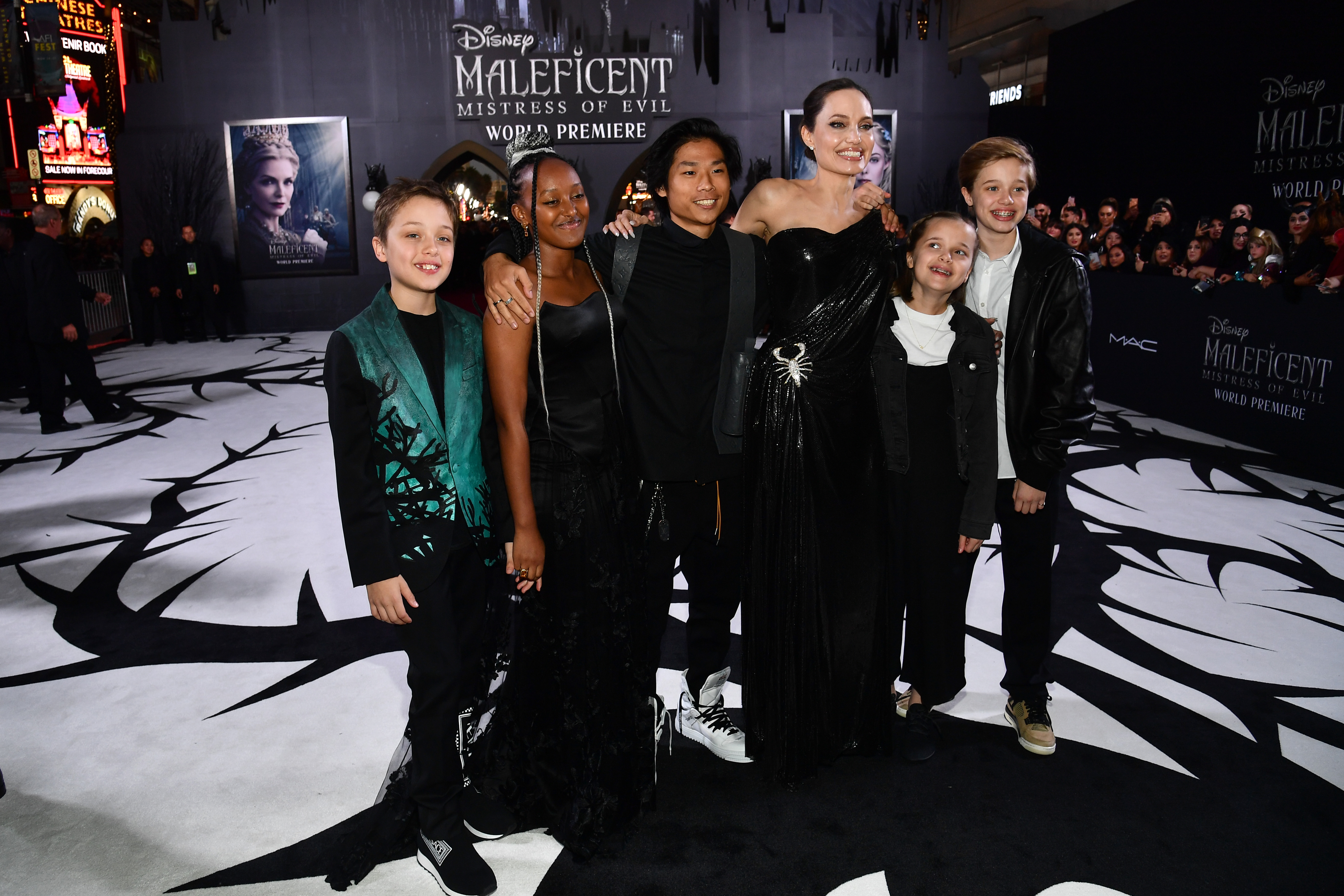 Angelina Jolie Reveals 'None' of Her 6 Kids Want to Follow in Her Footsteps to Become Actors