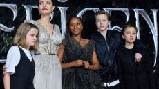 Angelina Jolie's Kids Accompany Mom to Another Premiere of 'Maleficent 2' — This Time in London!