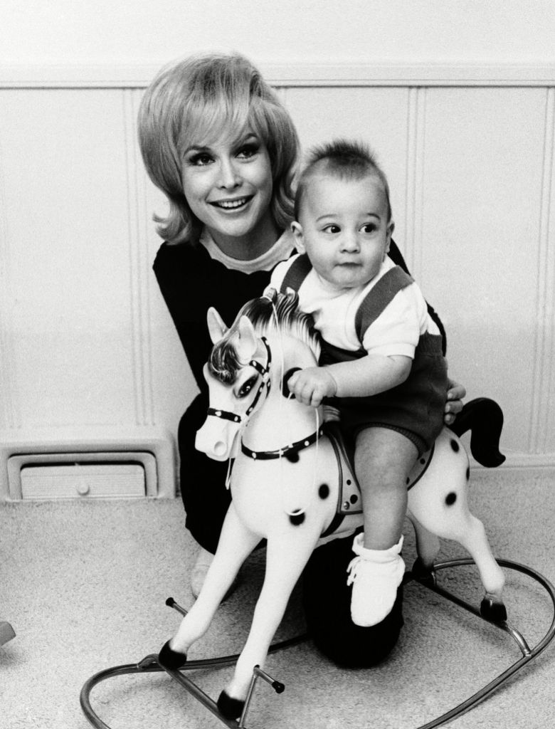 Barbara Eden and Son Matthew Ansara