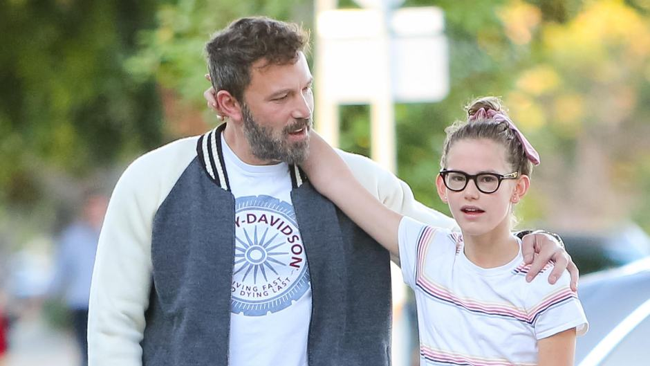 Ben Affleck with his kids out and about, Los Angeles, USA - 11 Oct 2019
