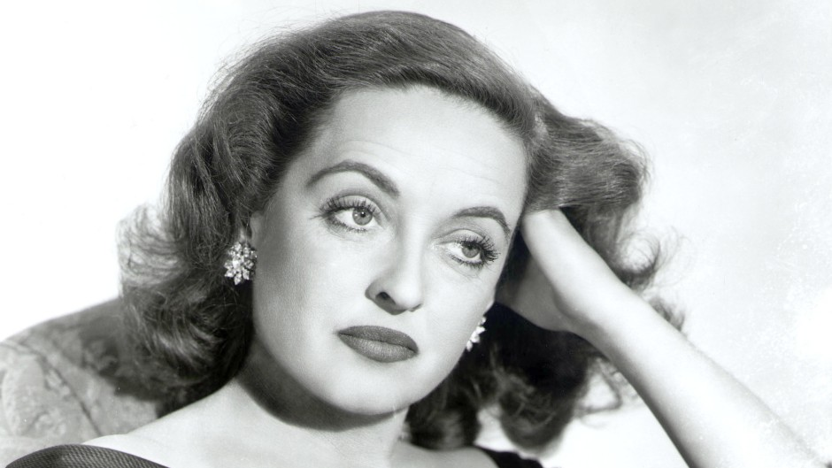 Bette Davis in a Promo Photo for 'All About Eve'