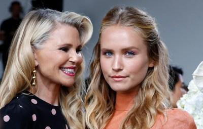 Christie Brinkley and Daughter Sailor Brinkley Cook