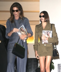 Cindy Crawford and Kaia Gerber Sighting