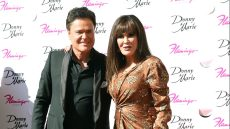 Donny and Marie Osmond Receive Plaque on Las Vegas Walk of Fame