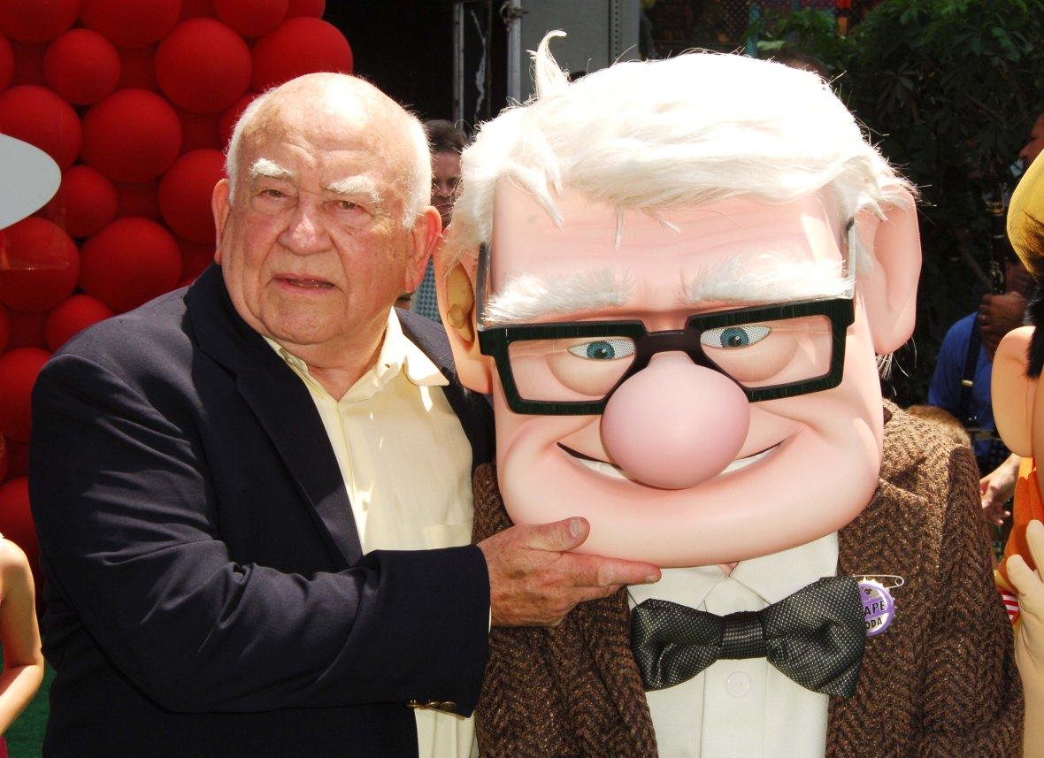 Ed Asner at the 'Up' Premiere in 2009