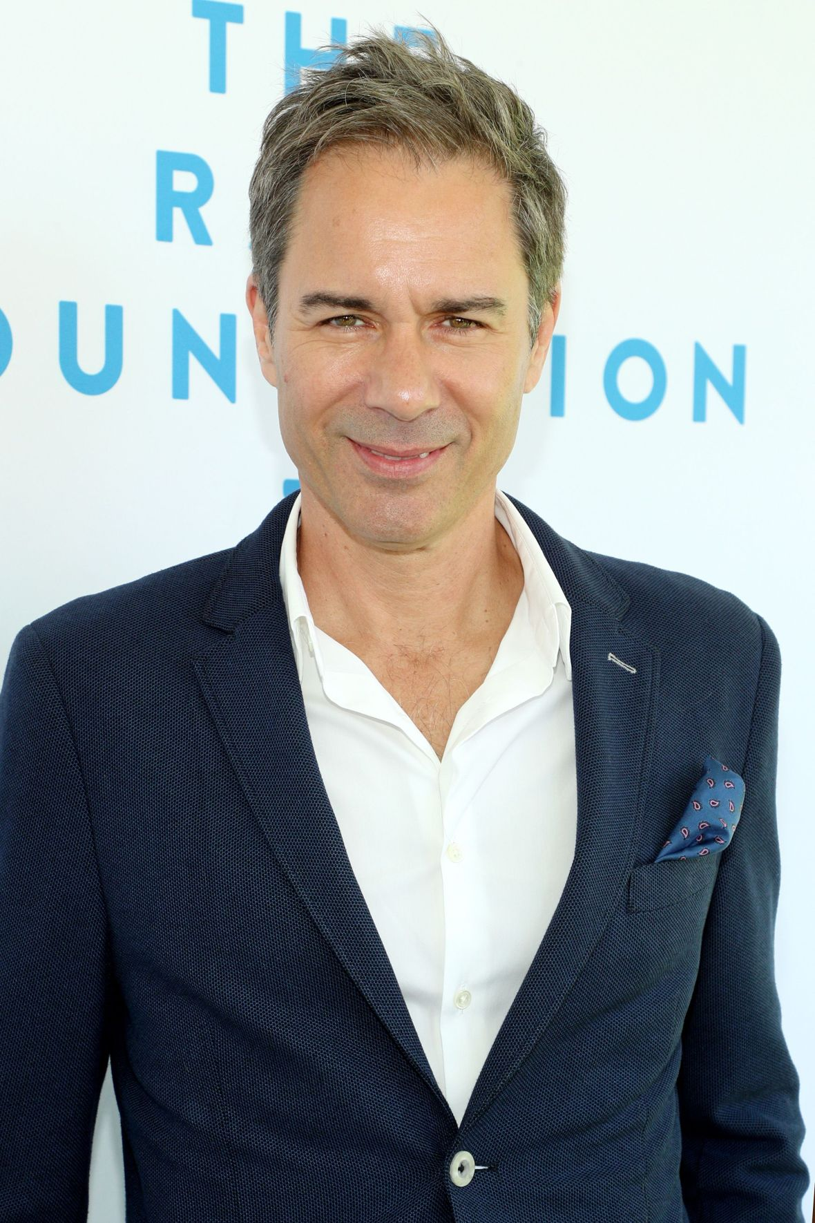 Eric McCormack in a Suit at The Rape Foundation's Annual Brunch 2019
