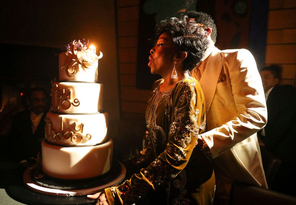 Gladys Knight's 75th Birthday Party, Inside, Vibrato Grill Jazz, Los Angeles, USA - 20 Oct 2019