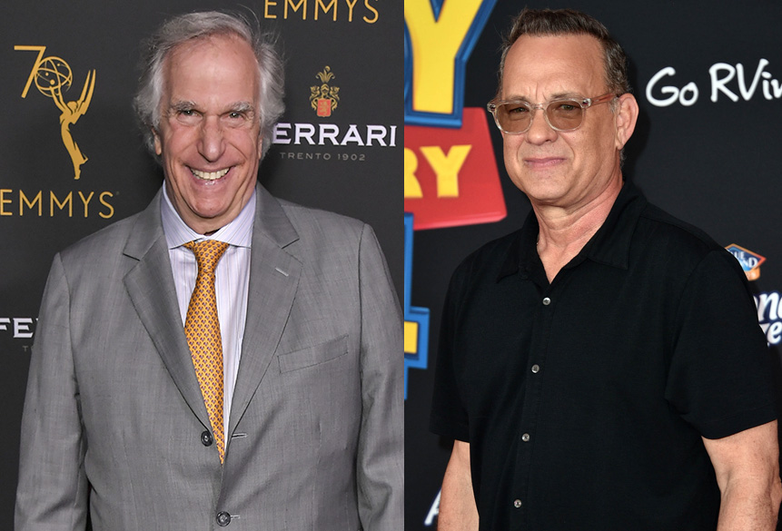 Henry Winkler Responds to Rumored 30-Year Feud With Tom Hanks on 'Watch What Happens Live'