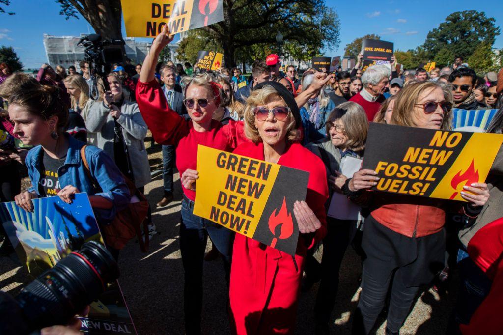 Climate Protests Fonda, Washington, USA - 18 Oct 2019