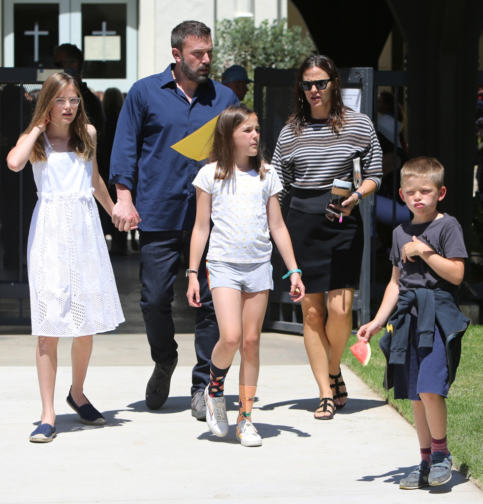 Ben Affleck and Jennifer Garner out and about, Los Angeles, USA - 30 Jun 2019