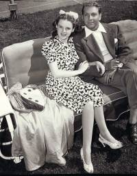 Judy Garland and First Husband David Rose