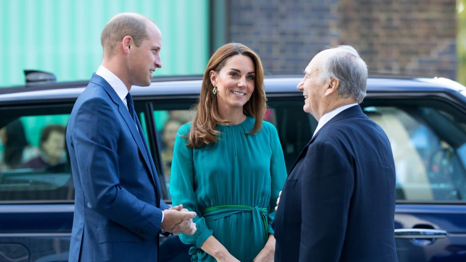 Prince William and Catherine Duchess of Cambridge visit to the Aga Khan Centre, London, UK - 02 Oct 2019