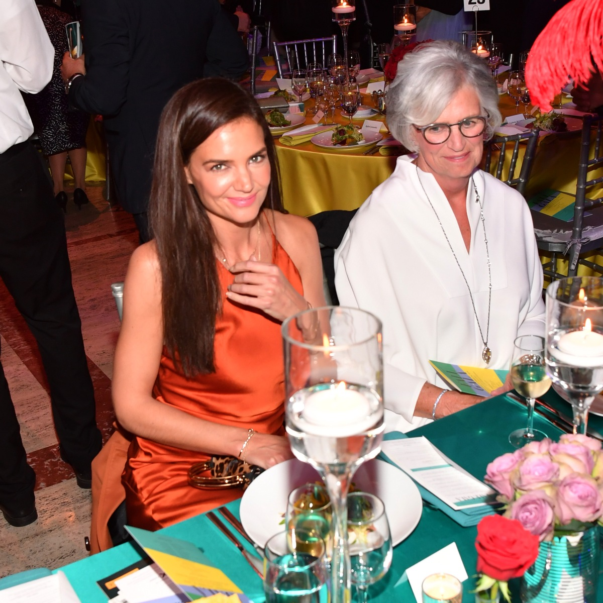 Katie Holmes and Mom Kathleen Are All Hugs and Smiles at the American Ballet Theatre Gala
