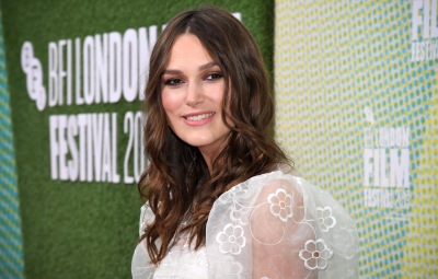 Keira Knightley at the 'Official Secrets' Film Premiere at BFI London Film Festival