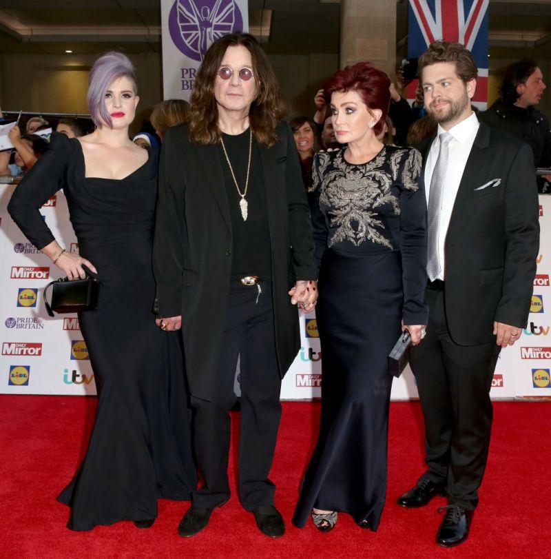 Sharon Osbourne Jack Osbourne Kelly Osbourne ozzy