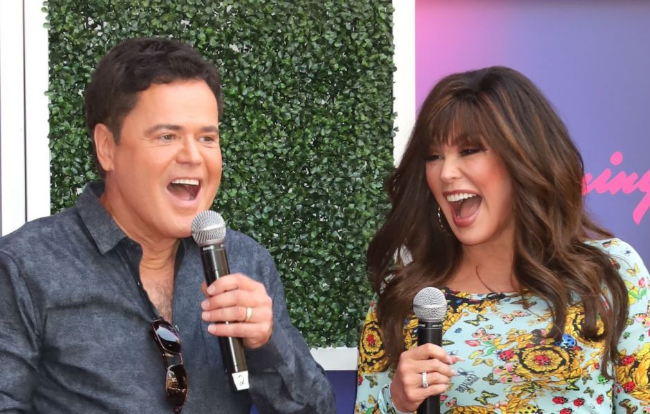 Donny and Marie Osmond receive the keys to the Las Vegas Strip, USA - 23 Aug 2019