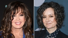 Marie Osmond and Sara Gilbert