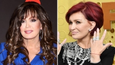 Marie Osmond and Sharon Osbourne