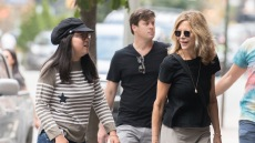 Meg Ryan and her daughter Daisy True Ryan in New York