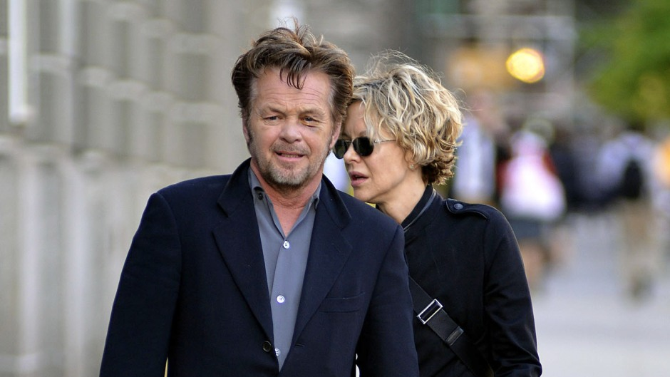 Meg Ryan and John Mellencamp out and about, New York, America - 05 Jun 2013