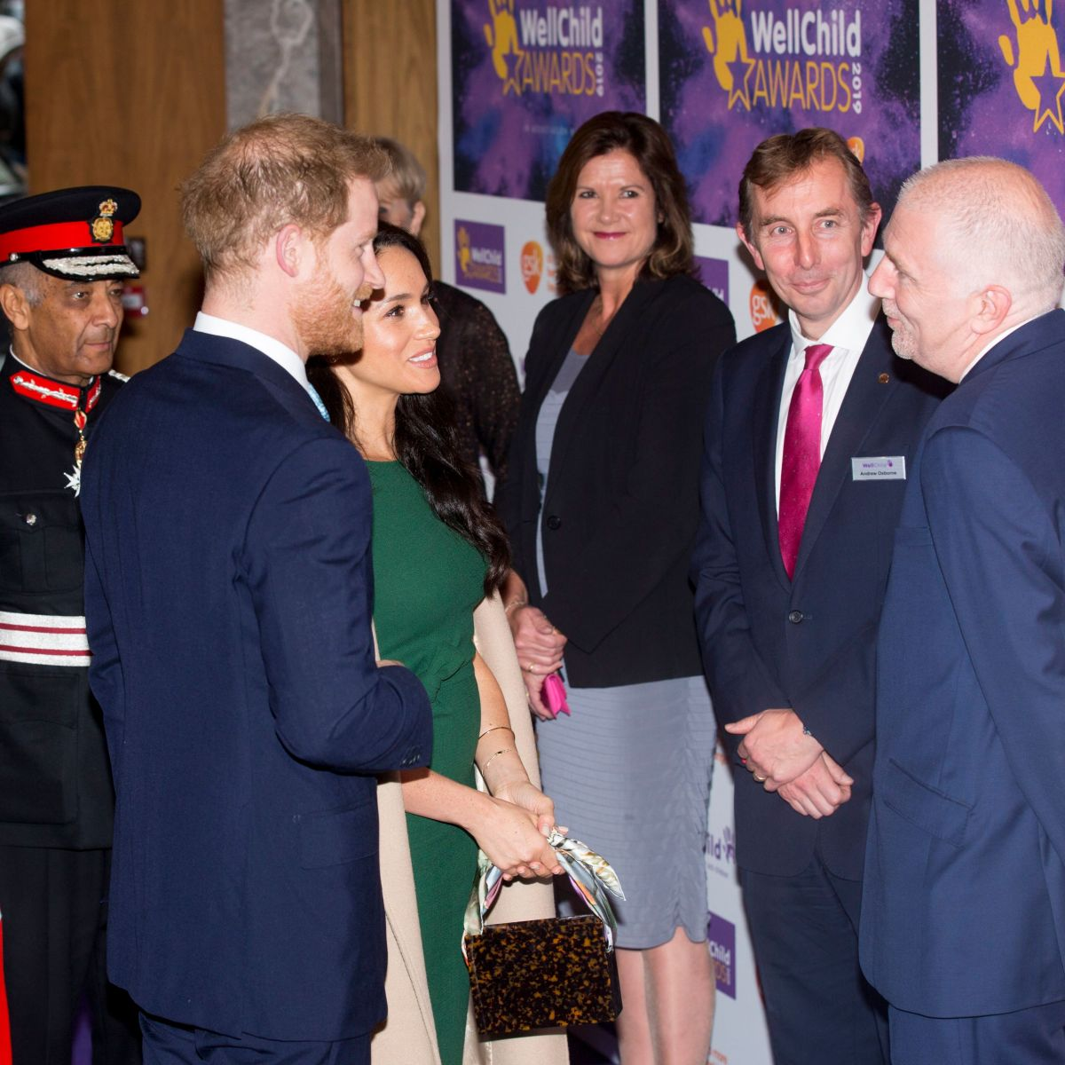 Duchess Meghan and Prince Harry Enjoy Date Night at the WellChild Awards in London