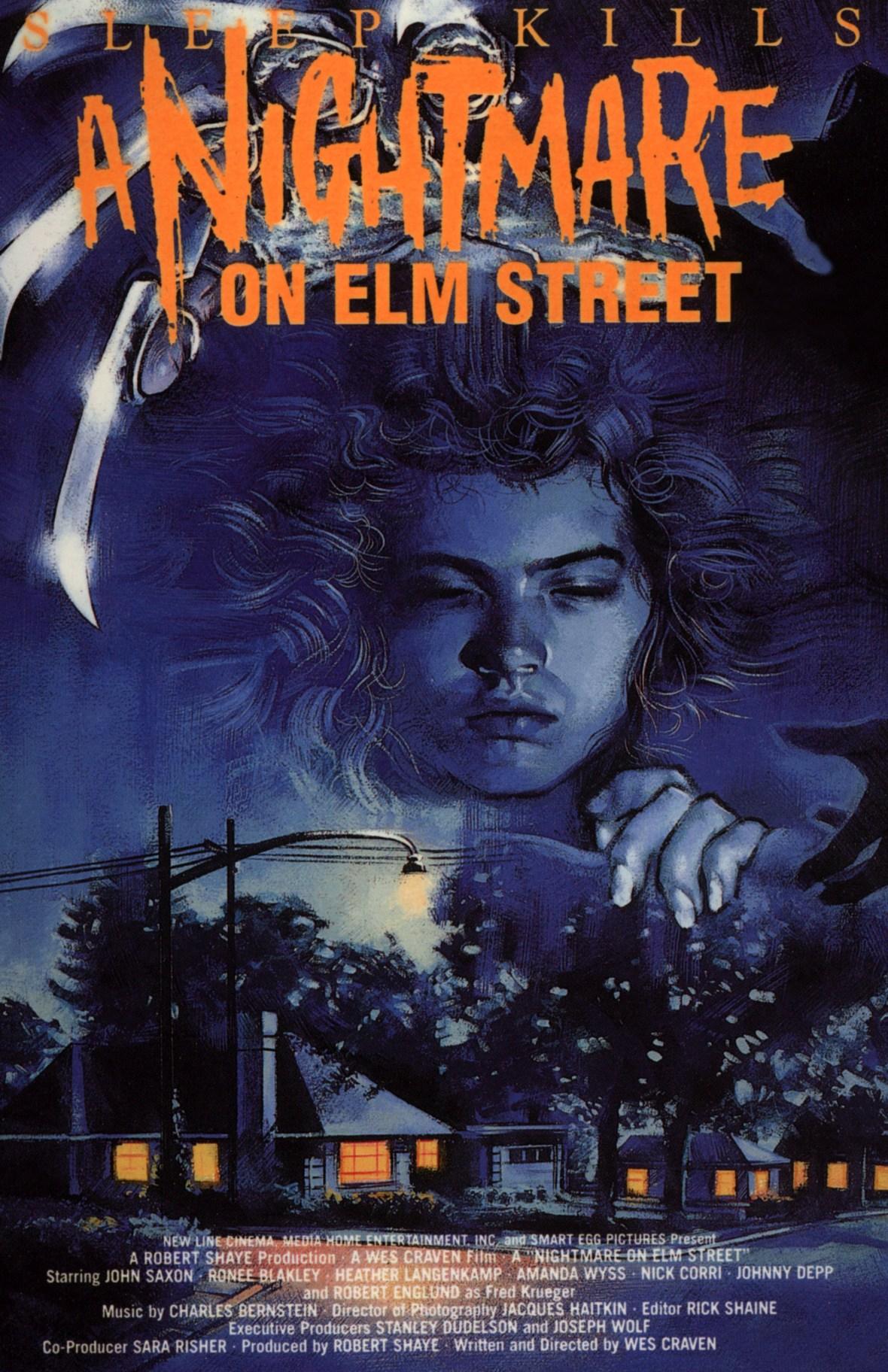 'A Nightmare on Elm Street' Movie Poster